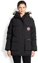 Canada Goose Fur-Trimmed Down Expedition Parka
