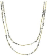 Chan Luu 42' Sunflower Crystals Layering Necklace