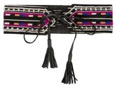 Isabel Marant Embroidered Waist Belt