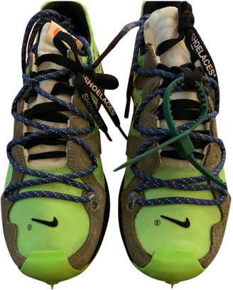 Nike x Off-White Zoom Terra Kiger 5 Green Cloth Trainers