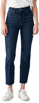 DL1961 Mara High-Rise Straight Ankle Jeans