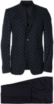 Givenchy stitch detail two-piece suit