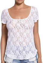 Hanky Panky Scoopneck High-Low Lace Top