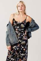 Azalea Sleek Floral Cami Midi Dress