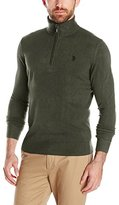 U.S. Polo Assn. Men's Solid Half-Zip Sweater