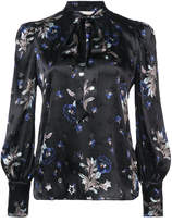 Rebecca Taylor floral embroidered blouse