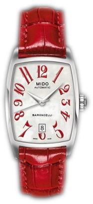 MIDO Ladies Watch Automatic Baroncelli Tonneau M0031071611200