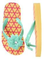 Gymboree Pineapple Flip Flops