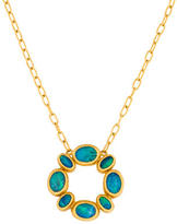 Gurhan 24k Gold Opal Pendant Necklace