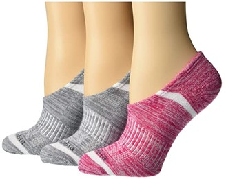 Columbia Space Dye Eclipse No Show (Cactus Pink Assorted) Women's No Show Socks Shoes