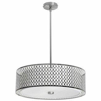 Orren Ellis Neasa 3 - Light Unique / Statement Drum Chandelier