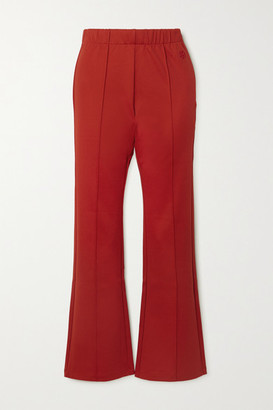 Tory Sport Stretch-jersey Flared Pants - x small