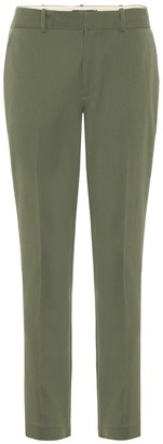 Polo Ralph Lauren Mid-rise straight cotton-blend pants