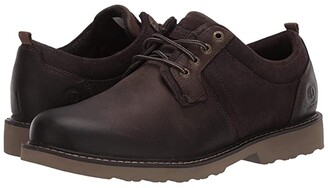 Dunham Jake Waterproof Oxford (Dark Brown) Men's Shoes