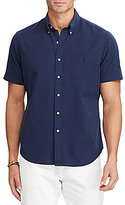 Polo Ralph Lauren Big & Tall Classic-Fit Solid Seersucker Short-Sleeve Woven Shirt