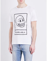 Cheap Monday Skull-print Cotton-jersey T-shirt