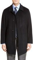 Hart Schaffner Marx Men's 'Douglas' Classic Fit Wool & Cashmere Overcoat