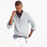 J.Crew Tall cotton-cashmere half-zip sweater