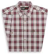 Wrangler Men's Riggs Workwear Foreman Plaid Work Shirt