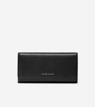 Cole Haan GRANDSERIES Flap Continental Wallet