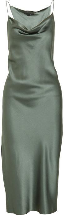 Alexander Wang Brushed-silk dress