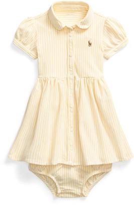Ralph Lauren Striped Oxford Dress Bloomer
