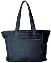 Briggs & Riley Baseline - Large Shopping Tote Bag (Navy Blue) Tote Handbags