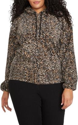 Volcom Leopard Hooded Sweatshirt