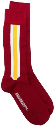 Calvin Klein stripe detail socks