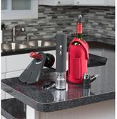 Zevro Wine Glove Wearable Wine Cozy in Red