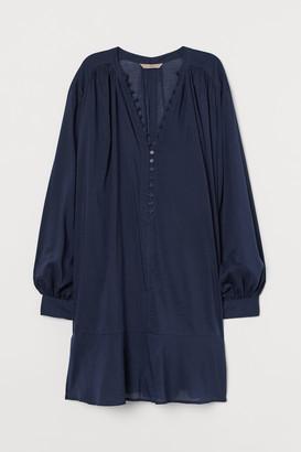 H&M H&M+ Airy Cotton-blend Tunic