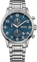 HUGO BOSS 1513183 aeroliner stainless steel watch