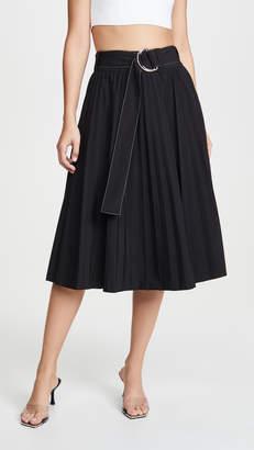 Proenza Schouler White Label Pleated Parachute Skirt
