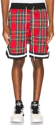 Crysp Denim Plaid Jordan Ball Shorts
