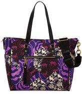 Marc Jacobs Trooper Nylon Tapestry Baby Tote Bag