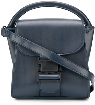 Zucca Buckled Tote Bag