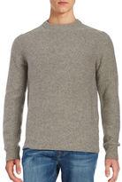 Black Brown 1826 Wool-Rich Knit Sweater