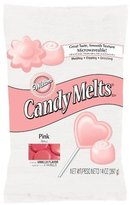 Wilton Pink Candy Melts 12 oz For Chocolate Fondue Fountain Cake Pops 1911-1361