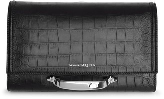 Alexander McQueen The Story small black crossbody bag