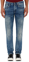 Denham the Jeanmaker Men's Distressed Razor Slim-Fit Jeans-BLUE