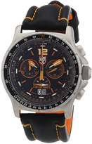 Luminox Men's F-35 Lightning II 9388 Leather Swiss Quartz Watch