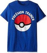 Pokemon Men's Trainer Short Sleeve T-Shirt