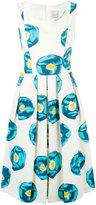 Eggs - printed midi dress - women - Cotton/Polyester/Acetate - 40