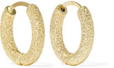 Carolina Bucci 18-karat Gold Hoop Earrings - one size
