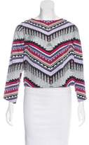 Mara Hoffman Long Sleeve Printed Top w/ Tags