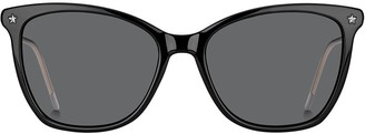 Tommy Hilfiger Oversized Cat-Eye Sunglasses