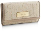 Calvin Klein Candice Lurex Mega Flap Wallet