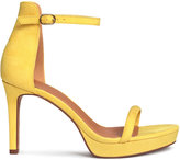 H&M Platform Sandals - Yellow - Ladies
