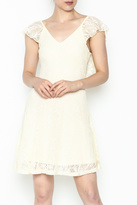 Wish Cream Lace Dress