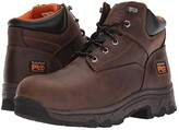 Timberland Workstead 6 Composite Safety Toe (Brown Full-Grain Leather) Men's Work Lace-up Boots